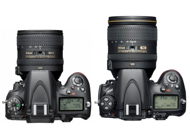 Nikon D600 gets firmware update, D800 improvements also