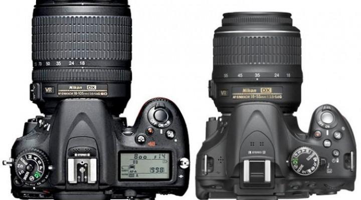Nikon D7100 vs. D5200, comparative review debatable