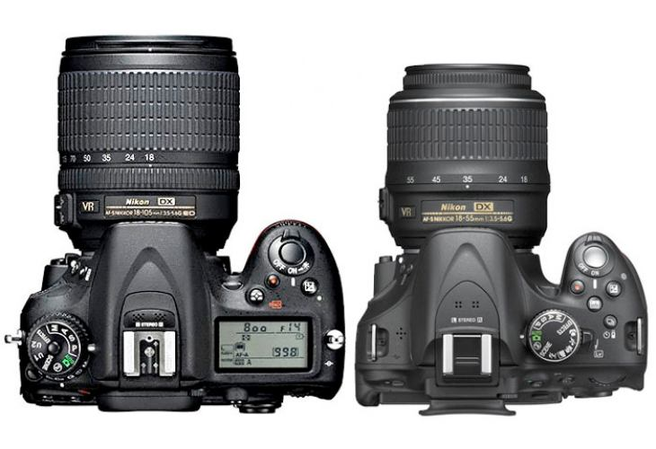 Nikon D7100 vs. Nikon D5200, comparative review debatable
