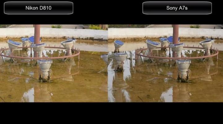 Nikon D810 vs. Sony A7s 1080p video test