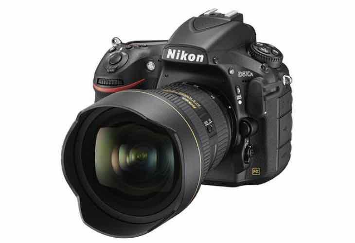 Nikon D810A now shipping