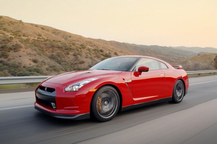 Nissan GT-R speed and fun