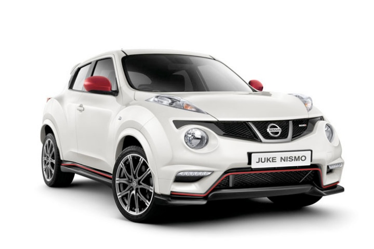 Nissan Juke Nismo with Motorsport inspiration