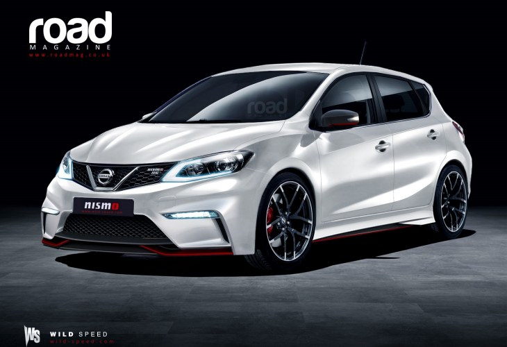 Nissan Pulsar Nismo visualized