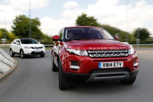 Nissan Qashqai vs. Range Rover Evoque running costs