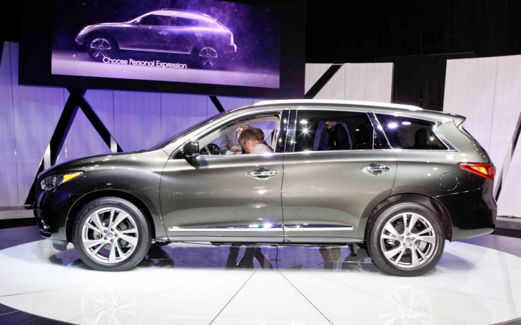 4,367 Infiniti JX35 SUVs affected by recall in China