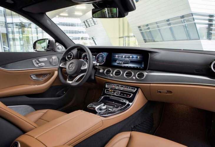 No 2017 Mercedes E-Class autopilot