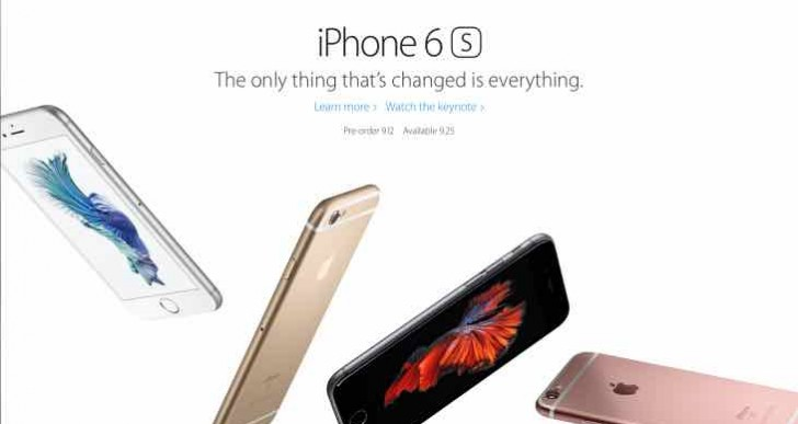 No 4-inch iPhone 6S announced at event