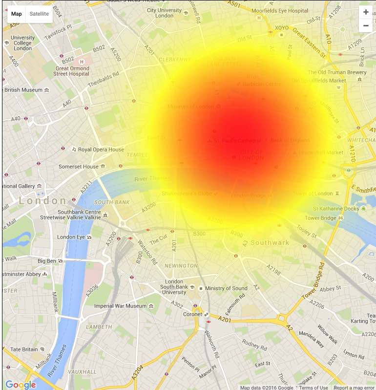 No EE signal, not working in London, July 21