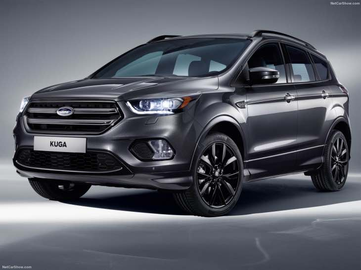 No Ford Kuga Sport ST or RS