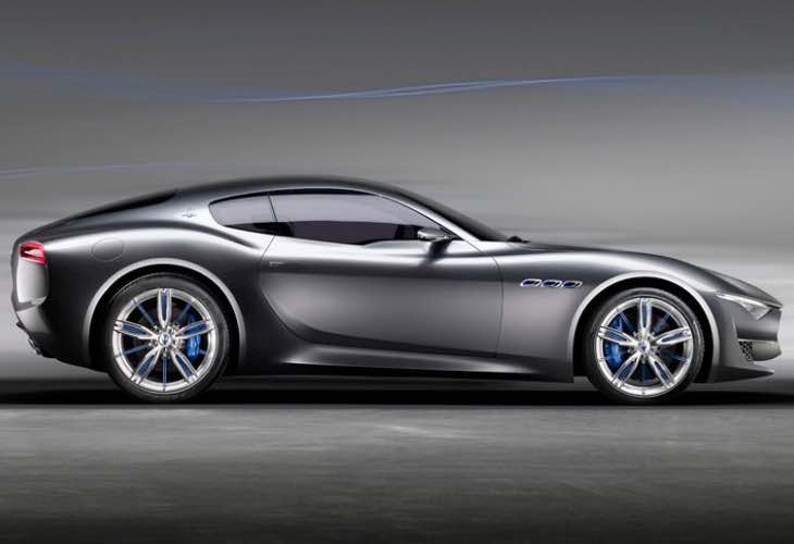 No Maserati Alfieri hybrid