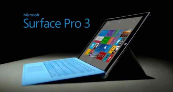 Microsoft Surface Pro 3 battery life fixed with update