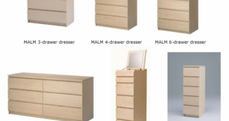No UK IKEA Malm drawers recall