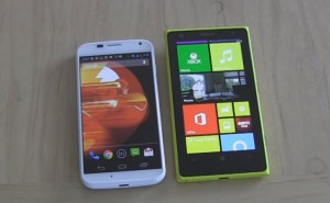 Nokia Lumia 1020 vs. Moto X in camera evaluation