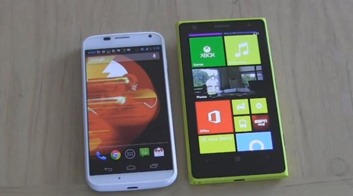 Nokia Lumia 1020 vs. Moto X in camera evaluation