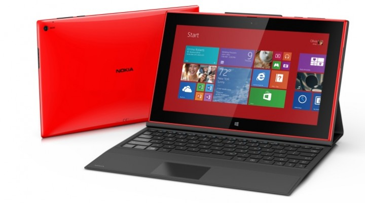 Nokia Lumia 2520 tablet game demo visualized