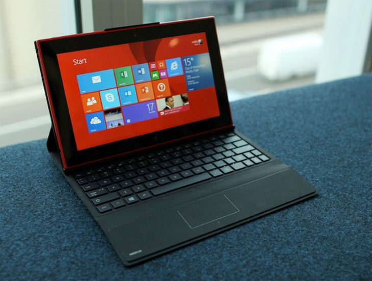 The Nokia Lumia 2520 has its sights set on the Surface 2