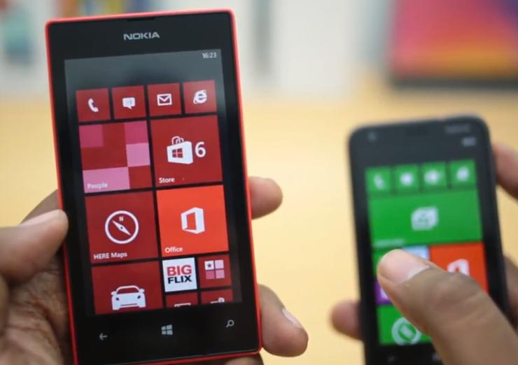 Nokia Lumia 520 vs. 620, two review perspectives