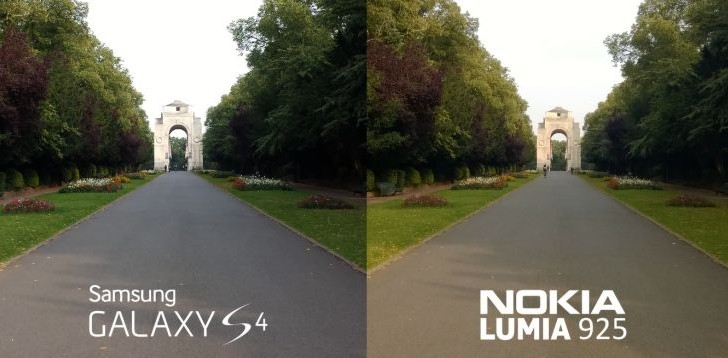 Nokia Lumia 925 camera versus Galaxy S4