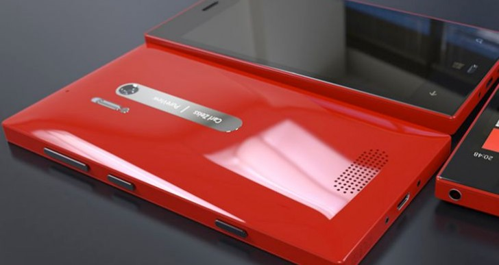 Nokia Lumia 928 representation maintains feature parameters