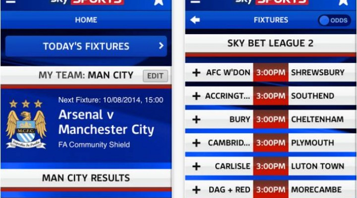 Notifications for Man Utd, City, Chelsea and more tweaked