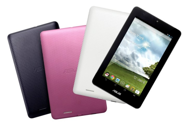 Numerous ASUS MeMo Pad 7 cases on release