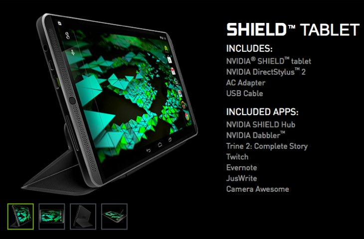 Nvidia Shield tablet for UK