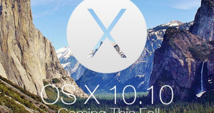 OS X 10.10 Control Center like iOS 7, maybe iOS 8