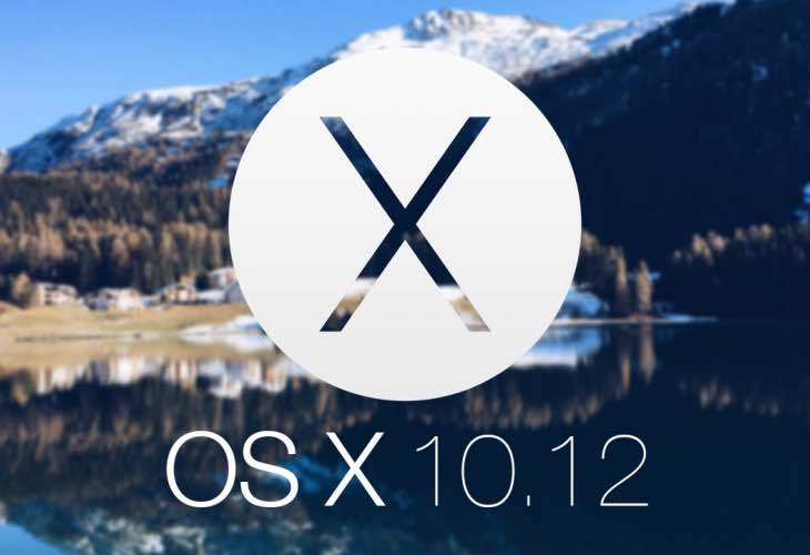 OS X 10.12 update rumors