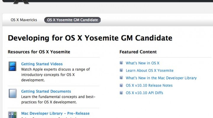 OS X Yosemite GM guarantees Oct release date