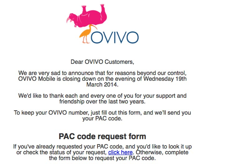 OVIVO-Mobile-network-down