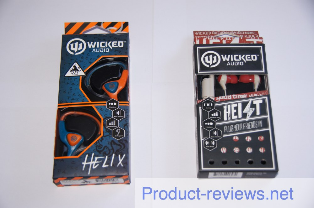 Objective Wicked Audio Heist and Helix earphones review