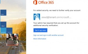 Office 365 iPad loophole during setup