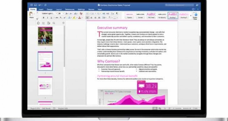 Office for Mac 2016 download live, not standalone version