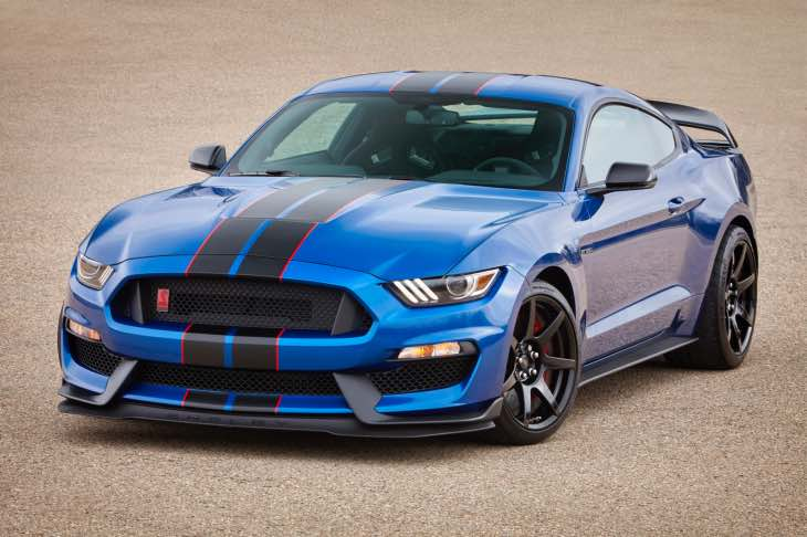 Official 2017 Ford Shelby GT350 Mustang package changes