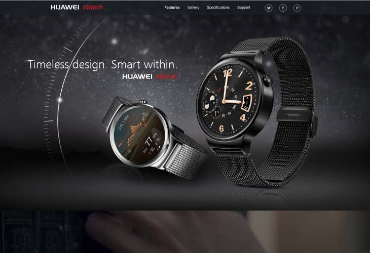 Official Huawei watch price, release details still not available