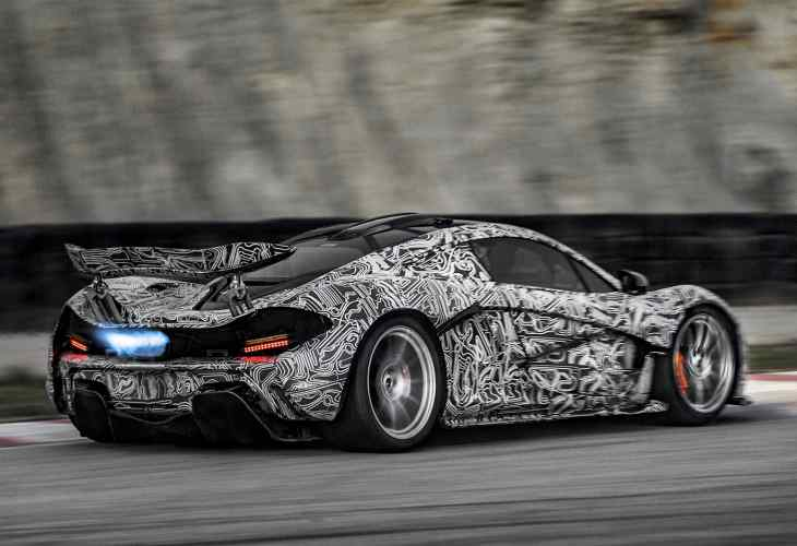 Official McLaren P1 power specs, top speed unspecified