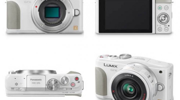 Official Panasonic Lumix DMC-GF6 specs revealed