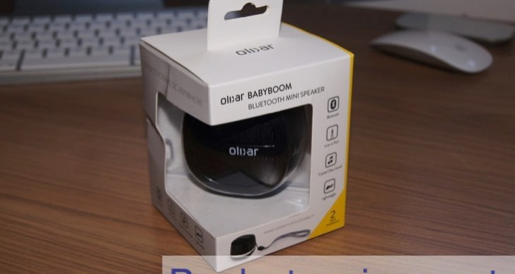Hands-on Olixar BabyBoom Bluetooth mini speaker review