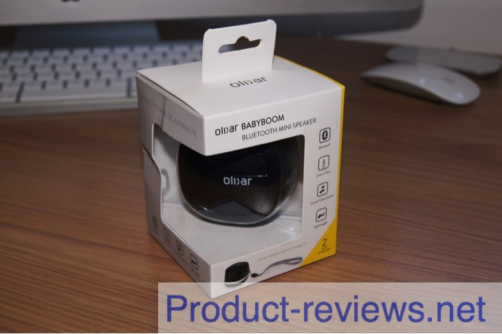 Olixar BabyBoom Bluetooth mini speaker review