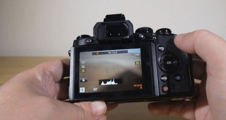 Olympus OMD EM-1 camera stills and recording