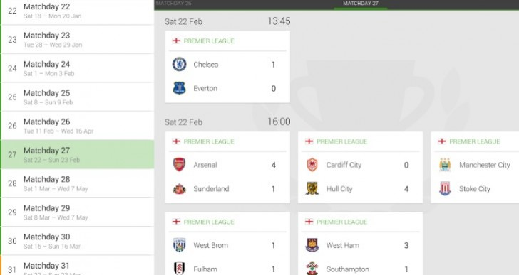 One Football Android app delivers transfer Feed