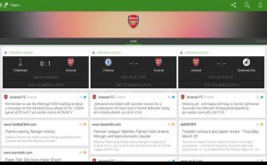 One Football app aims for news stability