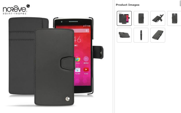 OnePlus One Noreve Tradition B flip case