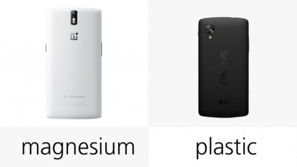 OnePlus One vs. Nexus 5 showdown