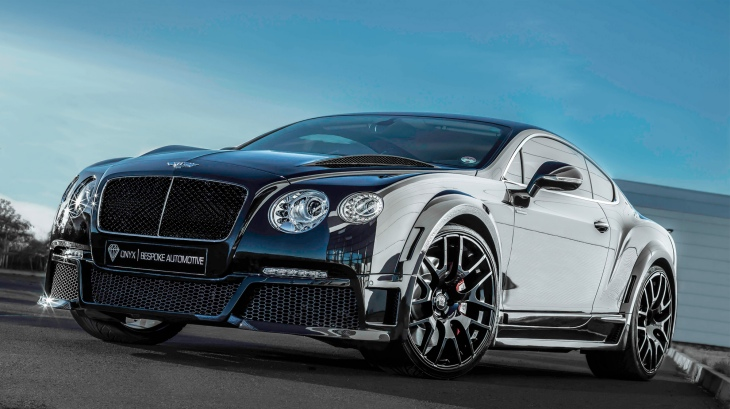 ONYX Bentley Continental GTVX concept revealed