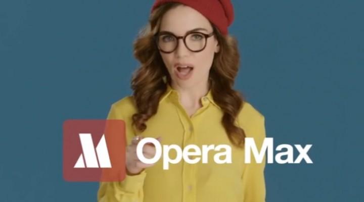 Opera Max Android data saver, iOS app soon
