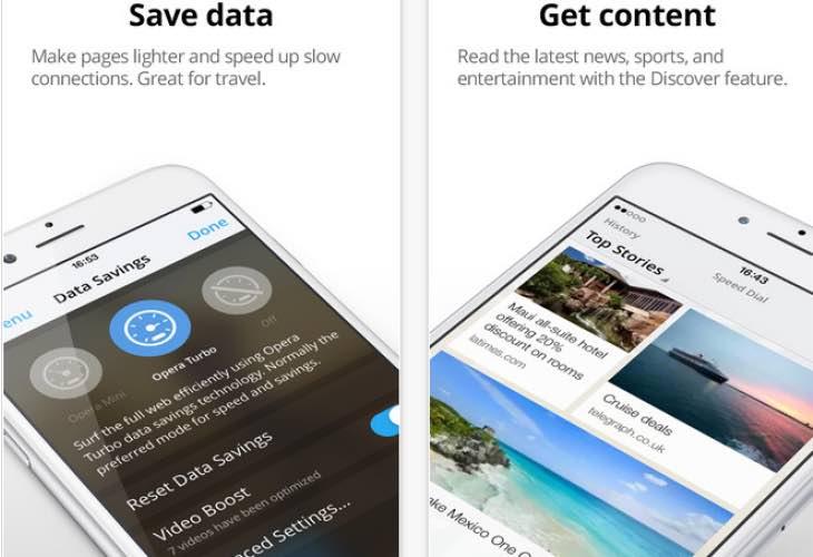 Opera Mini 9 update for iOS
