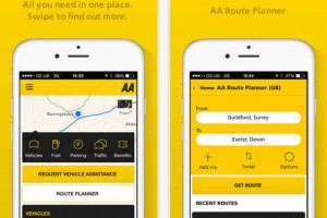 Operation stack update today with The AA app
