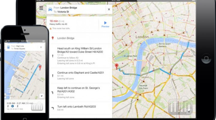 Google Maps optimized for iOS 8 available for download